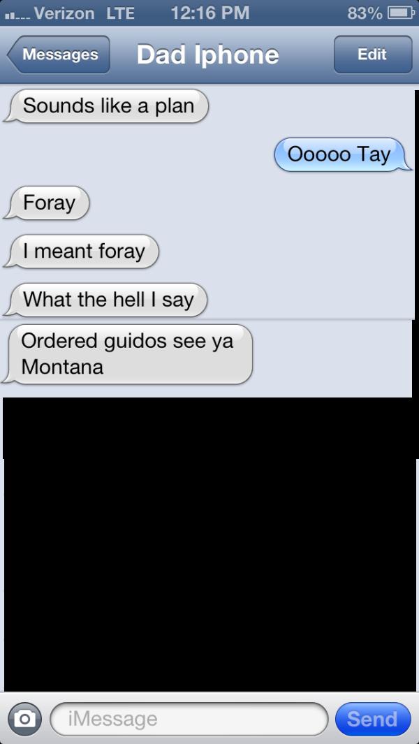 dad texts